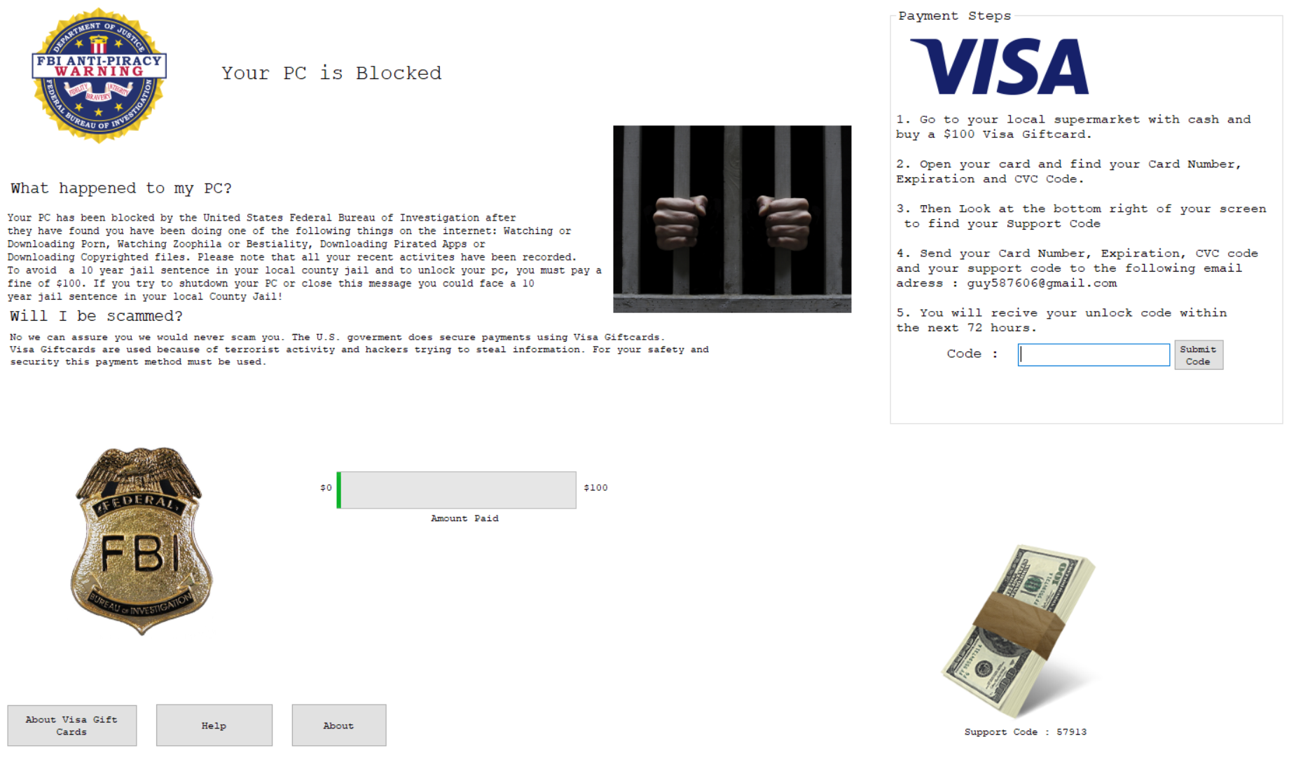 FBI screen locker trojan poses as Fortnite mod – SonicWall
