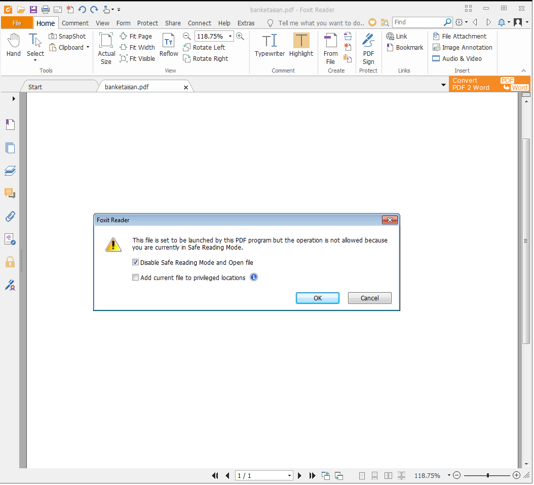 Beware of weaponized PDF – SonicWall