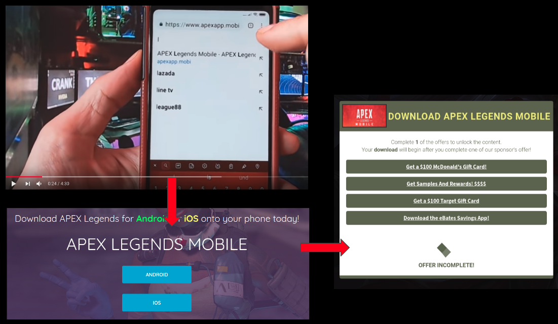 Apex Legends for Android – Spyware, Adware, Verification