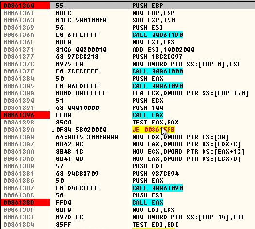 Simda Process Injection into Winlogon DGA Found – SonicWall